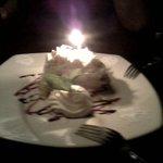 Cocount cream birthday pie