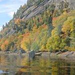 Falaise du fjord