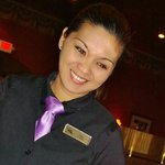 Our Friendly Server, Ms. Angie