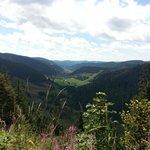 Blick ins Menzenschwander Tal - Tour zum Feldberg