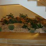 Décoration sous les escaliers