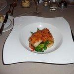 haddock with welsh rarebit