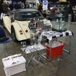Our stand at the autojumble
