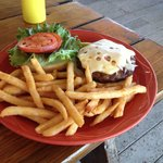 Great fries - burger soso