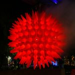 A Giant Glowing Ball