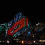 Light Show on Opera House