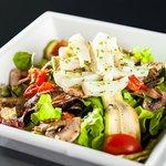 La salade a volonté de la Churrascaria Marius