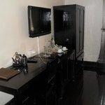 TV, Wardrobe, and Desk areas