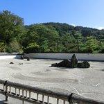 興禅寺の日本一広い石庭、看雲庭