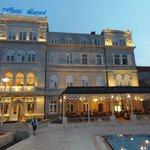 Dusk at hotel Lapad