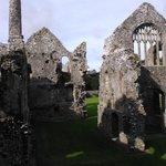 Views of the ruins