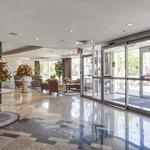 Bright and welcoming lobby