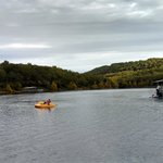 Free paddleboat rental on beautiful Table Rock lake