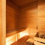 Some apartments have saunas