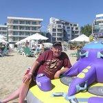 ON THE BEACH,