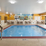 Take a dip in our indoor swimming pool after a long day!