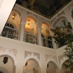 Vue depuis le centre du Riad