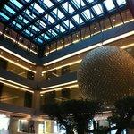 Lobby and Sky-Pool