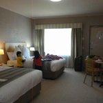 The clean & spacious room