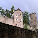 Le château de Montbard
