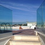 Great Pool and glass windshields