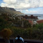 View from breakfast table