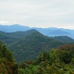 Mountain views not far from their home on Cherohala Skyway.