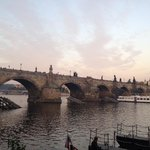 Famous Charles Bridge... Minutes from Hotel