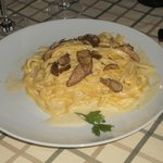 Spaghetti and Truffle