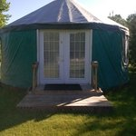 The Yurt at the Geneseo Campground