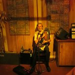Entertainer Ron Falconer at Les Tipaniers