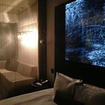 Snazzy suite - my son thought the photo was a little too Blair Witch