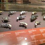 Interesting collection of handguns, including a quadruple-barrel handgun.