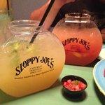 Fish Bowl Margaritas