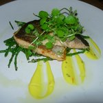 Hampshire trout fillet with samphire