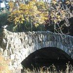 Old stone bridge a short stroll away