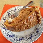 Caramel Apple Pecan Pie - loaded with apples!