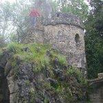 ruinas de una pequeña torre a la que se puede subir y ver todo el Carmen desde arriba