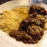 Tangia dans l'assiette