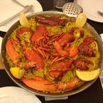 lobster paella....amazing