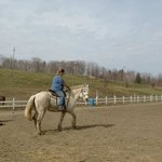Myself riding Gypsy