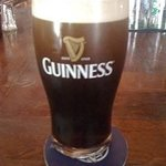 Our pint of Guinness