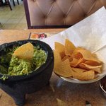 Table side made guacamole