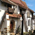 nearby Harman village (fortified church)