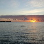 Sunrise from resort