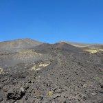 Etna lava field