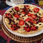 Sweet Pancake Frühstück @Bamboo