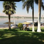 View of the Nile from the pool area