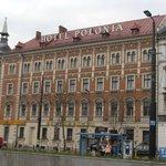 Facciata Hotel Polonia