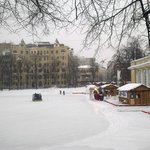 Зимой на Патриаршиих прудах